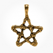 Hanger Bronze Pentacle
