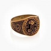 Ring Bronze Thorhammer