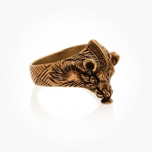 Ring Bronze Boar