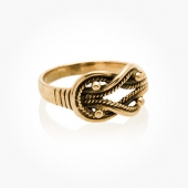 Ring Bronze Knot
