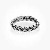 Ring Silver Braid
